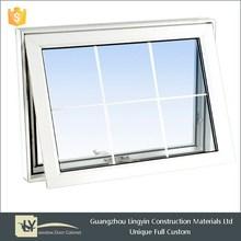 low price high quality pvc top hung window UPVC Casement