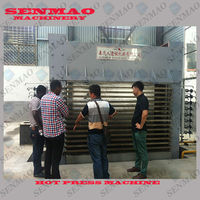 plywood heating press machine / hot press machine/ melamined lamination machine