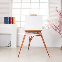 Beech wood French Sketchbox Easel for painting