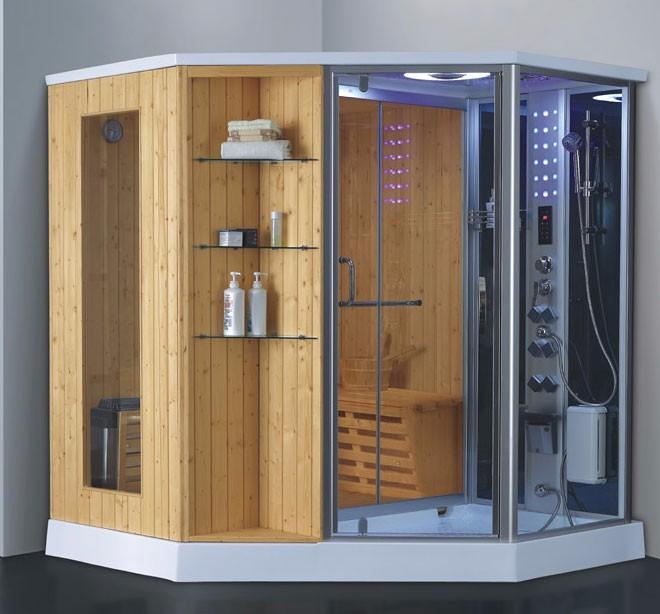 humide et sec vapeur douche sauna douche cabine de bain en bois chambre combinaison pour vente. Black Bedroom Furniture Sets. Home Design Ideas