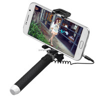 2015 new super mini wired extendable selfie stick with tripod colorful legoo selfie stick s for nokia lumia 520 mobile phone