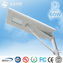 High lumen all in one solar street light garden light