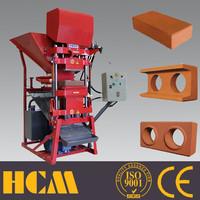 ECO2700 super Clay interlocking mesin