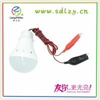 High lumen low light decay led bulb 5w 12v