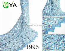 Top Selling Sequined High Quality Swiss Voile Laces