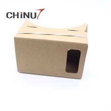 5.4 inch black magnet virtual reality WALL-E print virtual reality 3d glasses, cardboard vr