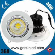 Wholesale 40W 4-way COB LED Downlight CE&RoHS in China
