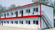 low cost modern house design/prefab slope roof house