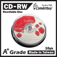 Taiwan A+ Smartbuy CD-RW, blank cd rewritable 12x 700MB