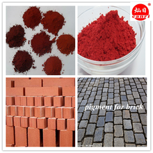 supplier offer Fe2o3 86% iron oxide yellow colored pigment for brick asphalt/concrete coloring