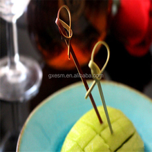 Food Grade party decorate cocktail bamboo knot skewer