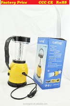 2015 Hand Crank Solar 24 LED Lantern Outdoor Bright Rechargeable Camping Light lantern