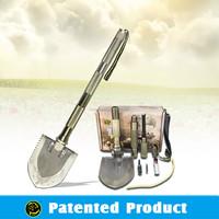 Bushcraft Adventure Tools Cutting Tool Kit Multifunction Foldable Spade&Shovel model#DJSV-IS Flint Knife