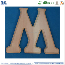 high quality wholesale wood letters/wooden decorative letters hanging signs/lighted wooden sign letters