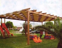 pavilion roof and carrybag include high tensile strength pavilion roofing material