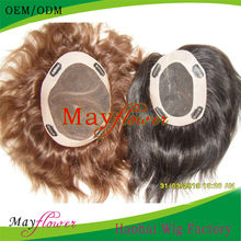 European remy hair toupee 5a grade french lace closures natural straight 8x10 new man hair pieces