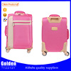 China supplier soft polyester leisure luggage travel bag 20'' 24'' 28'' big capacity luggage trolley bag best seller