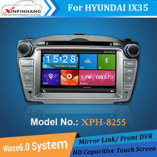 7'' HD touch screen Car radio for Hyundai IX35 Car radio gps with BT 3G WIFI Mirror link