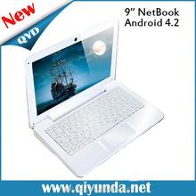 Good price 9 inchTFT Digital netbook laptop, netbook user manual android 4.2 VIA 8880 1.5GHZ mini netbook