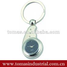 metal clock watch keychain factory