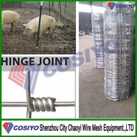 Australia Standard Woven Wire Netting Cattle Electric Fence