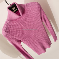 Top quality new style women knit pullover sweater