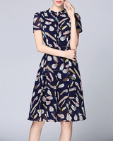 cheap women short chiffon dress bangkok clothes