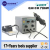 Factory price Quick 706W soldering station hot air 2 in1
