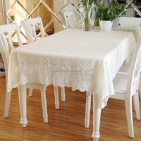 2015 Hot Sale Elegant Embroidery Flowers Cutwork Tablecloth