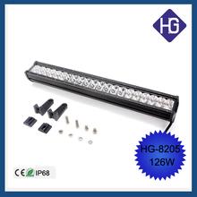 "Generic 144w Light Bar Led 25.7"" Spot Combo Work Off Road Fog Driving 4x4 Bumper Rock 144w led car decorative light"