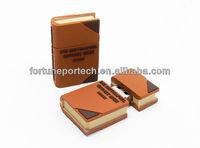 School gifts custom book usb flash disk 2.0