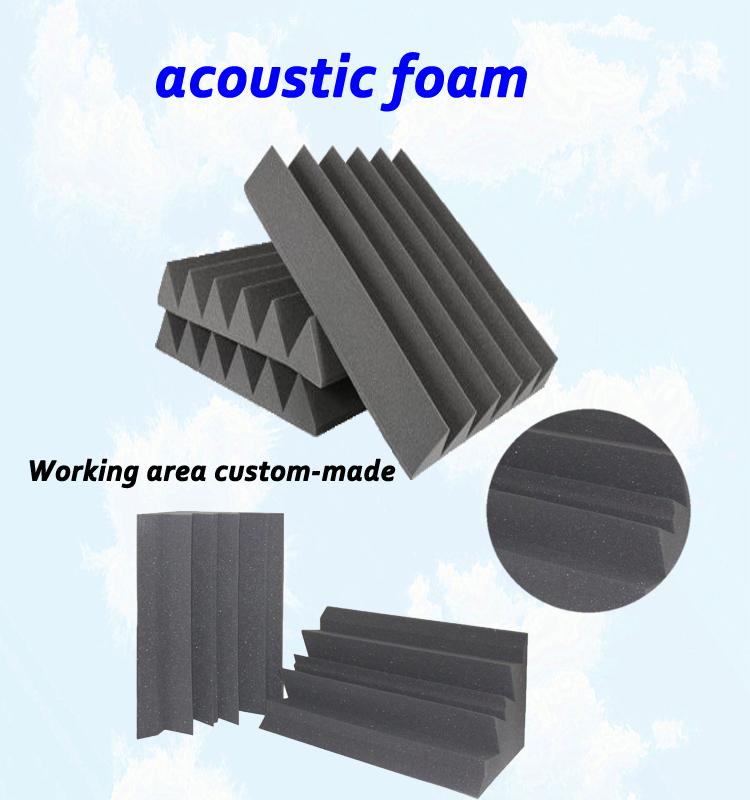 Acoustic Foam Insulation : Triangle types sound insulation foam sponge melamine