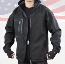 China sport wear men black waterproof tactical jacket,outdoor jacket
