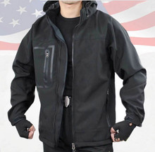 China spot wear men black waterproof tactical jacket,outdoor jacket