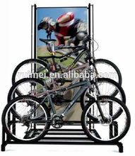 promotion staired bicycle display rack