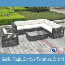 indoor outdoor garden rattan wicker sofa set rattan outdoor furniture