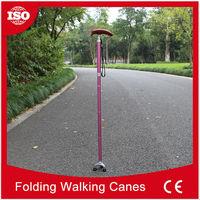Professional manufacturer 2015 Latest design titanium walking cane