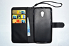 Cell Phone Case Wallet Design Leather Case for HUAWEI G6 Case