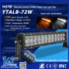 Super pocket-size!China atv parts led spot light set 72w mini size 4wd led driving light bar YTLB-72F