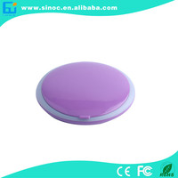 Wholesale new sixy video rechargable power bank travel 2014