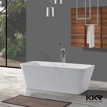 Kkr-b042 superficie sólida de tamaño personalizado blanco bañeras