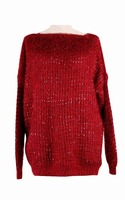 2015 new product lady's sweater knit women pullover with paillette