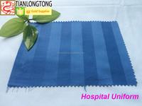 scrubs uniform/polycotton blend hospital fabric for bed sheet/scrubs hospital