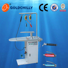 commercial laundry steam dry cleaning spot/stain removing table for laundry shop price