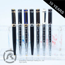 Small Order Accept Trendy Simple Style Twist Metal Ball Pen With Custom Logo