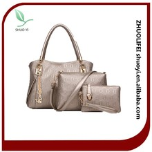 Fashion PU Leather Color Leather Handbags