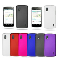 Stylish PC Hard Case Cover For LG Google Nexus 4 E960 & Screen Protector