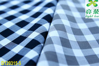 100% cotton yarn dyed twill gingham fabric for garment