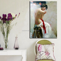 sex images painting handmade oil painting Beautiful naked women back oil paintings nude woman back for home decor wall decor