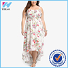 Dongguan Yihao Plus size women clothing printing latest dress designs summer big size dress clothing manufacturers